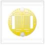 Circle base - Yellow