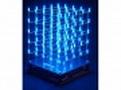 3D LED CUBE 5 x 5 x 5 (blue LED)