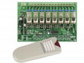8-CHANNEL RF REMOTE CONTROL SET