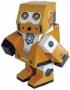 RQ-5 立體機器人造型紙公仔